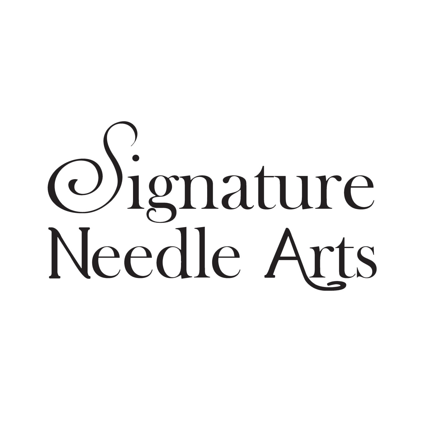 signature needle arts logo