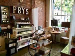 The Perfect Blend Yarn Shop Interior